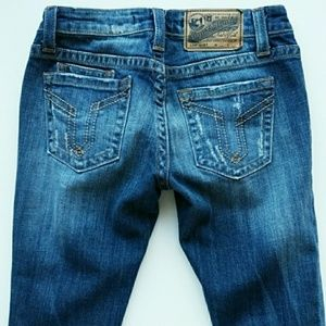 Vigoss Jeans - Vigoss Brooklyn Skinny Distressed Jeans 26